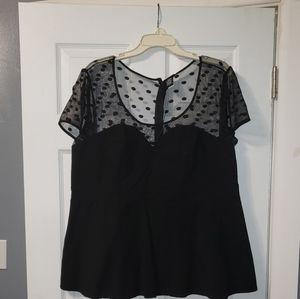 Tops - Sheer sweetheart  Pendulum shirt